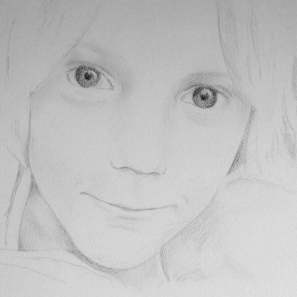 getekend portret van Jonathan